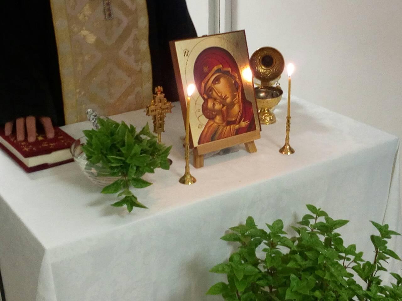 Αγιασμός για έβδομη συνεχή χρονιά στο Κοινωνικό Φροντιστήριο της Ιεράς Αρχιεπισκοπής Αθηνών